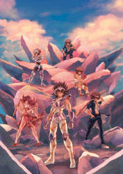 Kurumada Jump Super Stars by zaionic