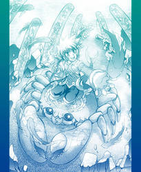 Mucha Nu under water by zaionic