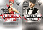 Valentines Flyer Template by quickandeasy1