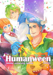 Monster University : Humanween by zeenine