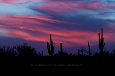 Arizona Sunset by JYB-Photography