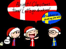 SatW - Christmas time by YoorNaymHeer