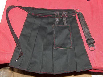 Belt on a Skirt by mechadollie