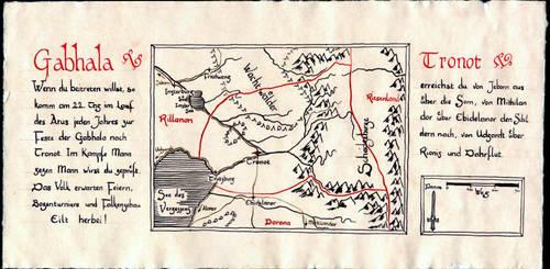 Map of Gabhala by Boldewyn