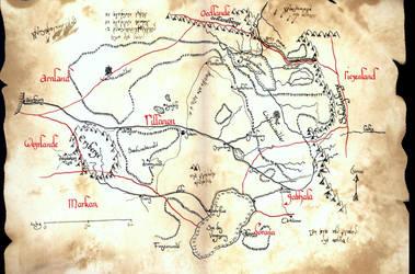Map of Rillanon by Boldewyn