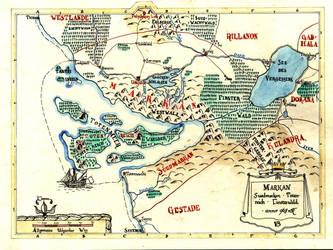 Map of Markan by Boldewyn
