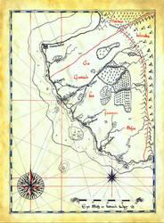 Map of the Gestade by Boldewyn