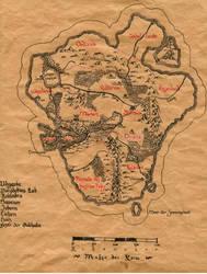 Map of the Lande by Boldewyn