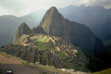 Machu Picchu Sunset by Boldewyn