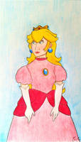 |Super Mario| Peach by Glaciliina
