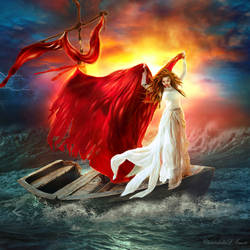 Scarlet Sails by ChristabelleLAmort