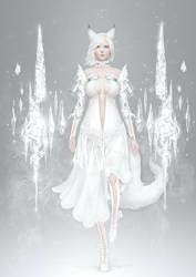 Snowfox-Light suit by casimir0304