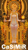 04-TAROT-EMPEROR by casimir0304