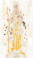 09-Tarot-Hermit by casimir0304