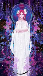 Tarot-02-The high priestess by casimir0304