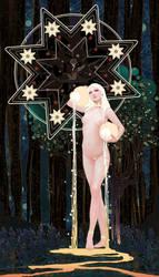 Tarot-17-The Star by casimir0304