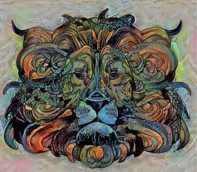 Wild Lion by pmoxim123