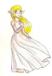 Princess Zelda Unknown Origins by hopelessromantic721