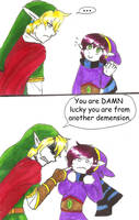 Past Hero Link is Disappoint: Part 6 by hopelessromantic721