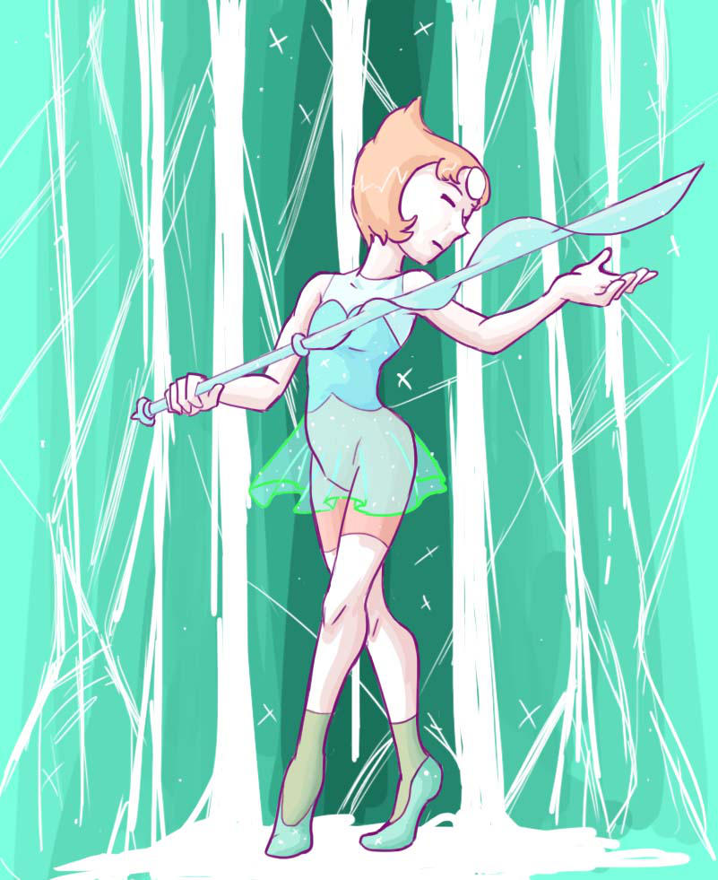 Pearl is my favorite character in the series. I don't watch it often, but the few clips I see with her I'm either laughing so hard or I'm crying my eyes out over a three minute clip. HOW DOES IT DO...