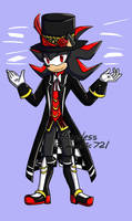 Contest: Shadow AU: MAD HATTER by hopelessromantic721