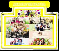 Mega PSD by SeroDuong - Happy SNSD 7th Anniversary by SeroDuong