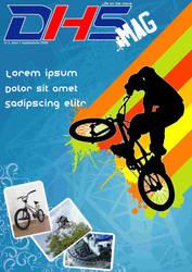 DHS bike magazine cover by yozzo