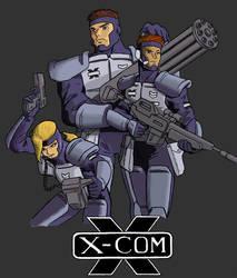 Fan Art: X-COM by Darcad