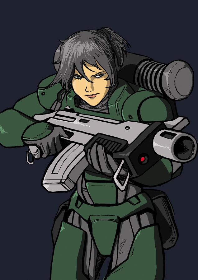 Space Trooper Scar by Darcad