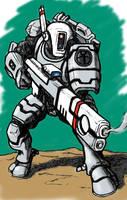 Firewarrior Shas'ui by Darcad