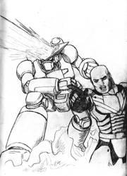 Super Robot Pilot by Darcad