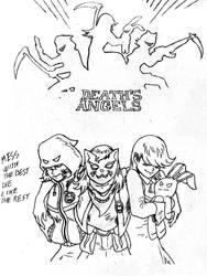 Death's Angels by Darcad