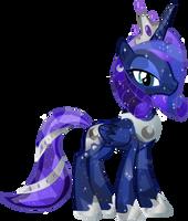 Crystal Princess Luna by Vector-Brony