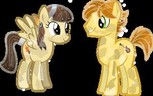 Crystal Wildfire (aka sibsy) and Mando Pony by Vector-Brony