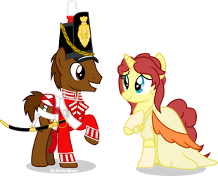 Chris and Elie Monty by Vector-Brony