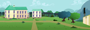 Outside Wide Shot by Vector-Brony