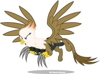 Griffon Mercinary by Vector-Brony