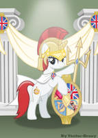 Lady Britannia (BUCK Mascot) by Vector-Brony