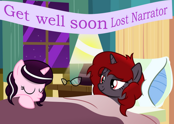 Get Well Soon The Lost Narrator by Vector-Brony