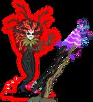 Gaia everfree Vs Twilight by Vector-Brony