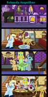 Friends Together by Vector-Brony