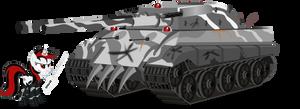 Deus tank by Vector-Brony