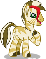 Zebra form by Vector-Brony