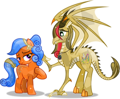 Crystal Dreamer and Vector-brony by Vector-Brony