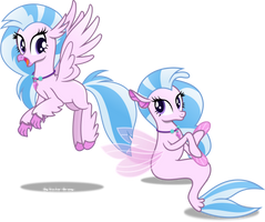 Silver Stream by Vector-Brony