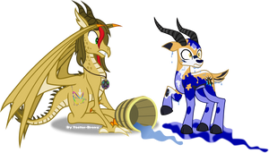 Trail Grazer and Vector by Vector-Brony