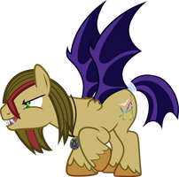 Vector-Brony Bat by Vector-Brony