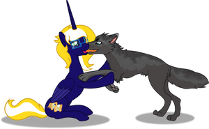 Time Vortex and Zima by Vector-Brony