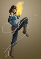 Avatar Korra by ArtParker