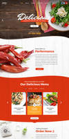 Foodier - Creative Parallax PSD Template by ProDeSq